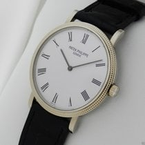 Patek Philippe Calatrava Mens Wristwatch Model 5120G B&P New