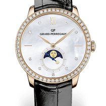 Girard Perregaux 1966 Rose gold 36mm Mother of pearl No numerals