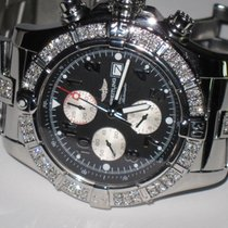 Breitling Super Avenger Steel 48mm Black Arabic numerals United States of America, New York, Wantagh