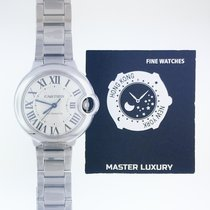 Cartier W6920071 Ballon Bleu Steel 33 mm Medium Automatic Slv...