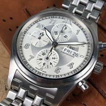 IWC - Spitfire Chronograph Automatic - IW3717-02 - Men -...