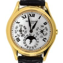 Patek Philippe Perpetual Calendar Yellow gold 36mm White No numerals United States of America, New York, New York