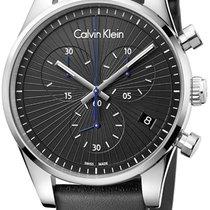 ck Calvin Klein Acciaio 42mm Quarzo K8S271C1 nuovo