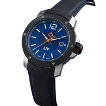 Liv Watches GX Base Swiss Made 3 Hand | Steel Case & Black IP...