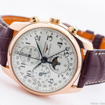 Longines Master Collection Rose gold 40 no crownmm White Arabic numerals