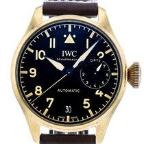 IWC Titanium Automatic Black 46mm pre-owned Big Pilot