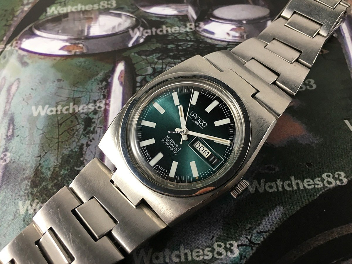307fe4ad607 Lanco 25 jewels Automatic vintage swiss watch Ref 36610 for  201 for sale  from a Trusted Seller on Chrono24