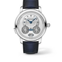 Montblanc new Automatic Skeletonized Display Back 44.8mm Steel Sapphire Glass