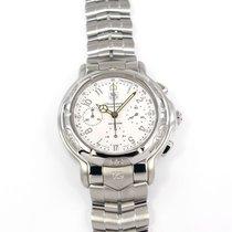 TAG Heuer 6000 Steel 40mm White Arabic numerals