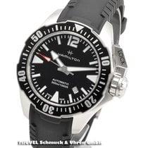 Hamilton Khaki Navy Frogman Acier 42mm Noir