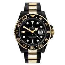 Rolex GMT-Master II 116713 New Gold/Steel 40mm Automatic