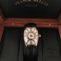 Franck Muller Vegas White gold Silver Arabic numerals
