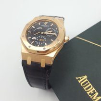 Audemars Piguet 26120OR.OO.D002CR.01 Rose gold 2011 Royal Oak Dual Time 39mm pre-owned
