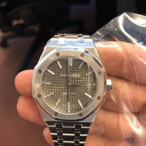 Audemars Piguet 15450ST.OO.1256ST.02 Stål 2019 Royal Oak Selfwinding 37mm ny