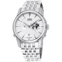Oris Artelier Worldtimer new Automatic Watch with original box 69076904081MB