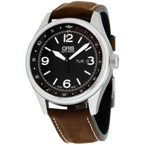 Oris Royal Flying Doctor Service Limited Edition Steel 45mm Black Arabic numerals United States of America, New York, Brooklyn