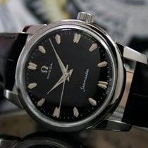 Omega Seamaster Steel 33mm Black No numerals