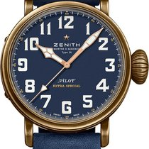 Zenith Pilot Type 20 Extra Special Bronze 45mm Blue United States of America, New York, Airmont