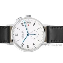 NOMOS Tangomat GMT Steel 40mm White Arabic numerals United States of America, Florida, Aventura