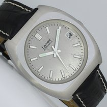 A. Lange & Söhne Steel Automatic Silver 37mm pre-owned