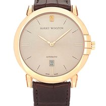 Harry Winston Rose gold Automatic Champagne 42mm new Midnight