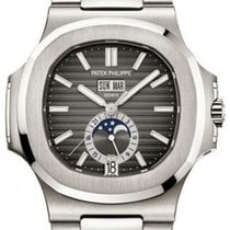 Patek Philippe Nautilus Steel 40.5mm Grey No numerals United States of America, New York, New York