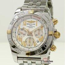 Breitling Chronomat 44 Zlato/Zeljezo 44mm Bjel