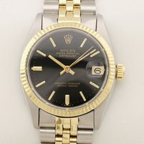 Rolex Lady-Datejust Acero y oro 31mm Negro