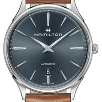 Hamilton Jazzmaster Thinline Acier 40mm Gris
