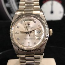 Rolex Or blanc Remontage automatique Or 36mm occasion Day-Date 36