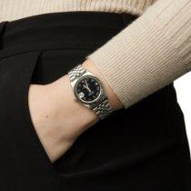 Rolex Lady-Datejust Acier 31mm Noir Arabes