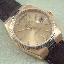 Rolex Day Date Oysterquartz 18 Karat Schnellschaltung Saphirglas