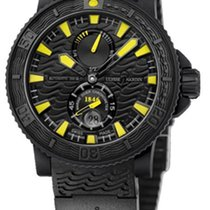 Ulysse Nardin Diver Black Sea new 2012 Automatic Watch with original box 263-92-3C-924