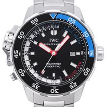 IWC Aquatimer Deep Two Steel Black
