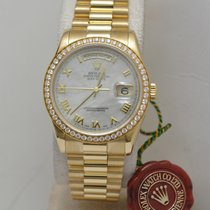 Rolex DAY-DATE Mother of Pearl and Diamonds