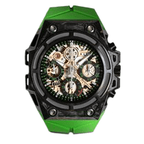 リンデ・ヴェルデリン (Linde Werdelin) SpidoSpeed Carbon Green