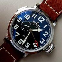 Zenith Pilot Type 20 GMT nuevo 2016 Automático Reloj con estuche y documentos originales 03.2430.693/21.C723