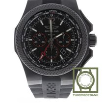 Breitling Bentley B04 GMT Titanio 49mm Negro Árabes