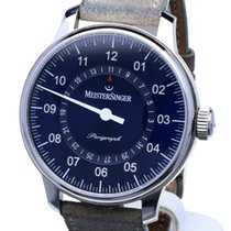 Meistersinger Perigraph Steel Automatic 43 mm (Full Set 2017)