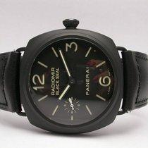 Panerai Black Seal Ceramic Pam00292 45mm Black Dial & Leather...
