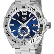 TAG Heuer Steel Automatic Blue 43mm new Formula 1