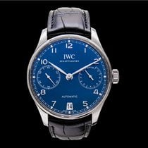IWC Portuguese Automatic Steel 42.30mm Blue United States of America, California, San Mateo