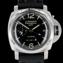 Panerai Luminor 1950 8 Days GMT Box and Papers 2012 (PM AM DIAL)