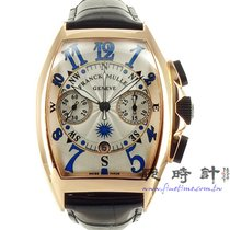法兰克穆勒 計時碼錶 40mm 自動發條 新的 Mariner 銀色