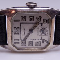 Rolex 1920s 800 Silver Case Silver Dial Manual WInd Mens Watch...