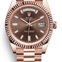Rolex Oyster Perpetual Day-Date 40 Baguette Diamonds 228235