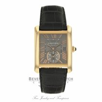 Cartier Rose gold Automatic Grey new Tank MC