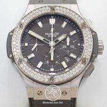 Hublot Big Bang Evolution 44mm Factory Diamonds Chrono...