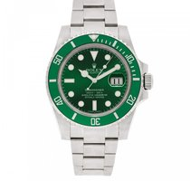 Rolex 116610LV Steel 2016 Submariner Date 40mm pre-owned United States of America, New York, NEW YORK