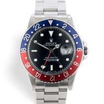 Rolex 16750 GMT-Master Transitional - Pepsi Box & Papers